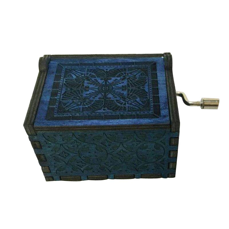Details about  /Wood Music Box Game of Thrones Harri Potter Wooden Music Box Antique Carved