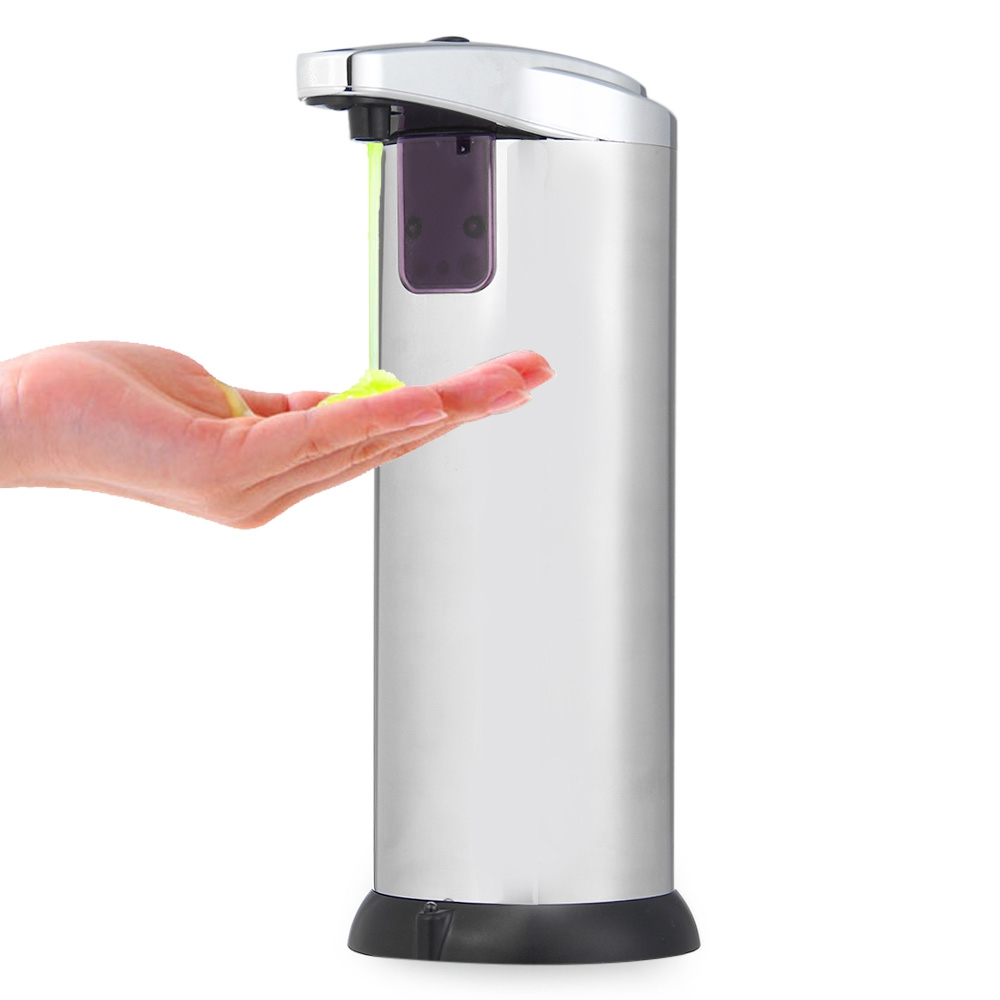 Ad 02 280ml automatic soap dispenser with built in - Built in soap dispenser in bathroom ...