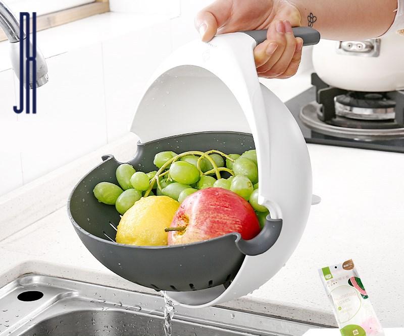 NEW Multi-functional Balanced Vegetable Washer, Strainer/Colander, Defrosting Bowl