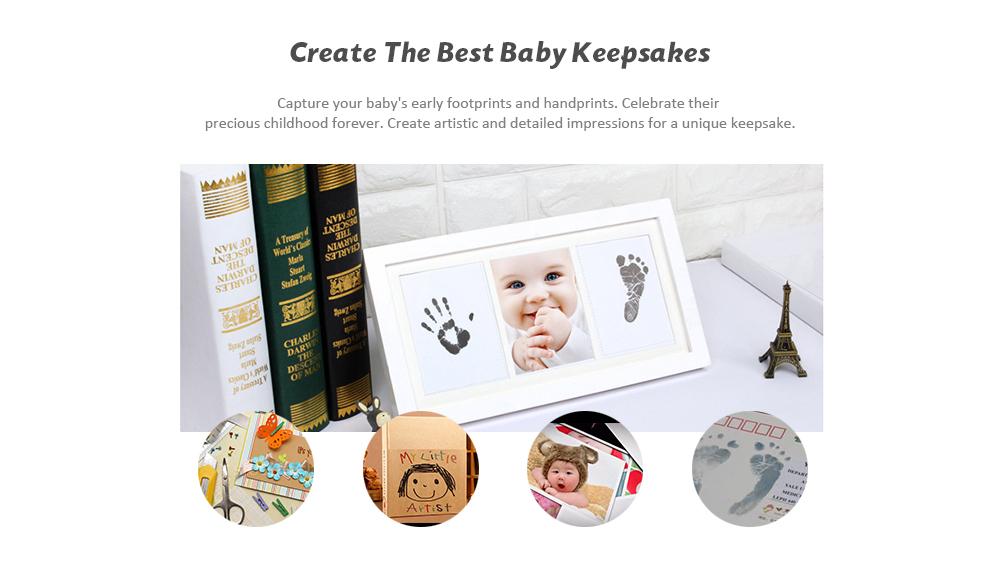 Baby Footprint Handprint Ink Pad for Early Childhood DIY Keepsakes