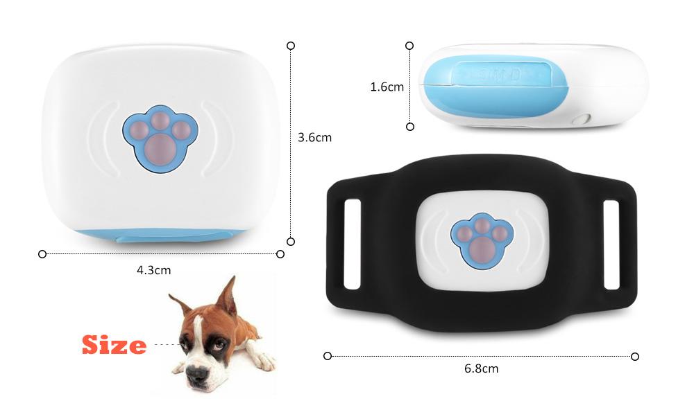 Smart Finder Wireless Bluetooth GPS Locator Kid Pet Tracker Anti-lost Alarm