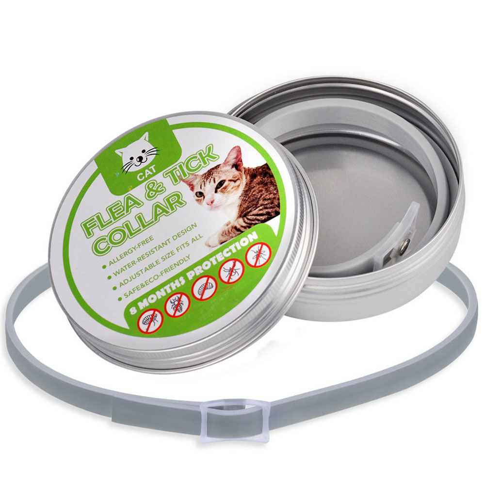 Dogs Cats Up 8 Month Flea and Tick Collar 34.5CM Long