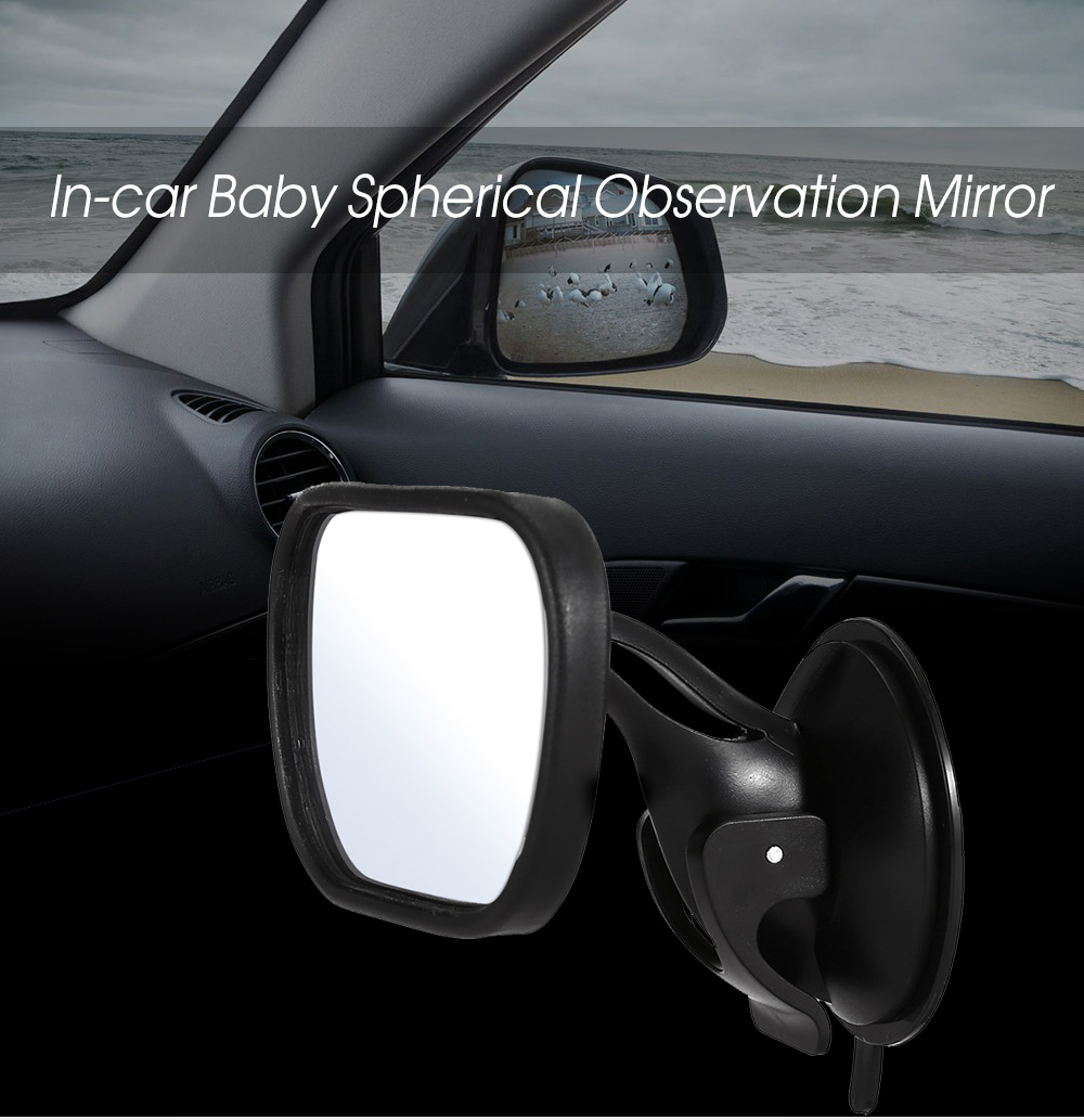 In-car Baby Spherical Observation Mirror