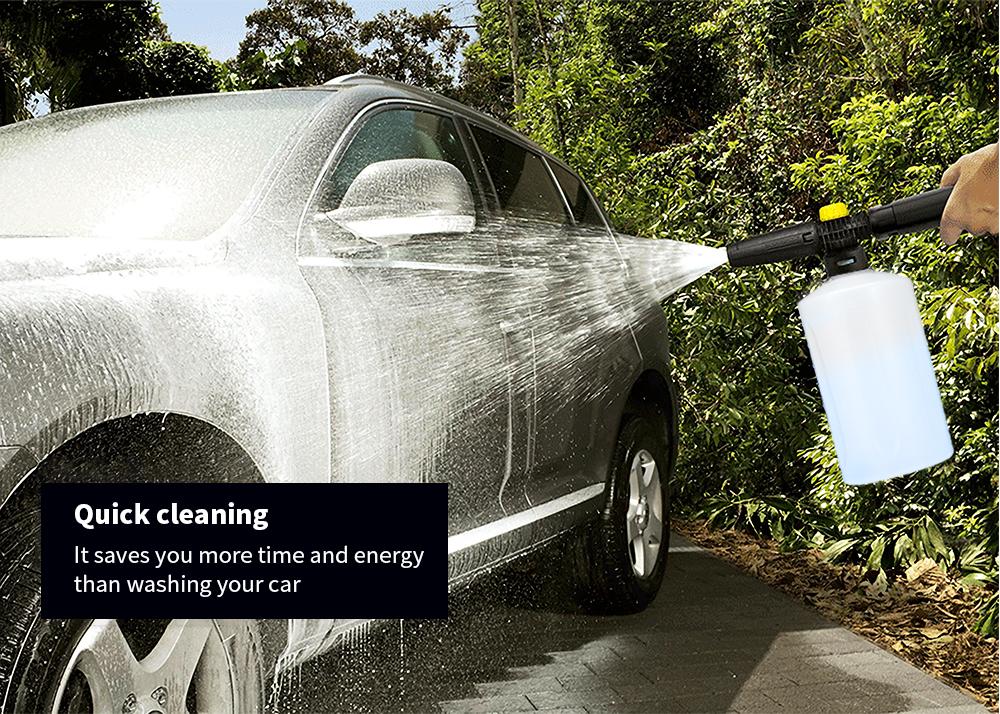 High Pressure Foam Lance Soap Dispenser Car Washer for Karcher K2 - K7 LAVOR VAX COMET BS